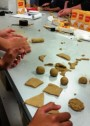 Port Lincoln students making bioplastic shapes